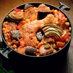 Cocido madrileño: receta de este plato típico de Madrid (España), en español.