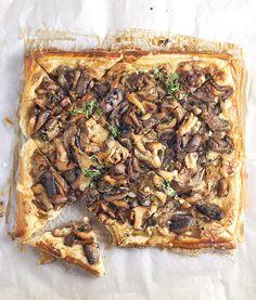 Last Minute Thanksgiving Sides | Mushroom tart | conundrum