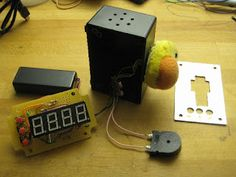 MSP430 Oven Timer With Quack Alarm