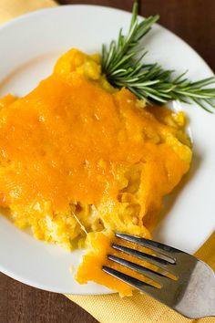 Cheesy Creamed Corn Casserole