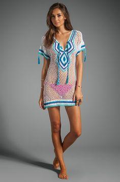 Amalfi #crochet dress / summer coverup from Anna Kosturova
