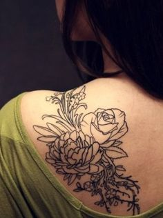 The look and placement of this tattoo is almost exactly what I want, with a few of my own details added in.