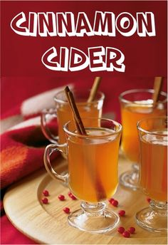 Cinnamon Cider Recipe! ~ such a quick and simple cider recipe for those chilly days!