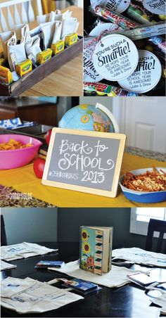 Back to School Party  - simple tips for a fun get together!