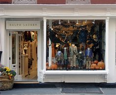 Halloween Window Display by Swell Dame, via Flickr