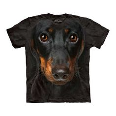 Dachshund Face Tee now featured on Fab.