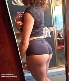 Sexy booty selfie  #ass #booty #whooty #pawg #shorts #shortshorts