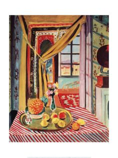 Interior with Phonograph, Matisse.
