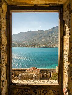 Prachtig doorkijkje, Kreta, Griekenland