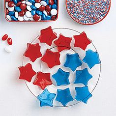 Jell-O Stars from MyRecipes.com #4thofJuly