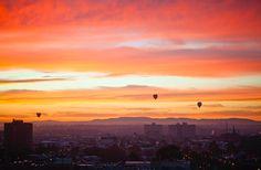 Melbourne's hot air balloons