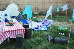 Backyard campout!
