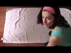 How to Fold Towels like the Department Stores