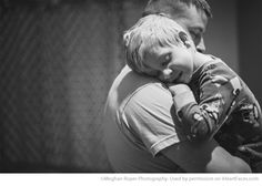 Dad & Me: Photo Ideas for Fathers Day - Portrait by Meghann Roper Photography via iHeartFaces.com