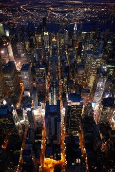 city views, aerial photography, bright lights, new york city, aerial view, place, citi, cameron davidson, big city