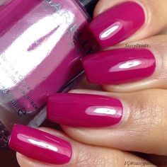 Sassy Paints: Barielle Berry Posh from the Me Couture Collection.