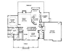 Small farmhouse - nice flow - Plan 019H-0002 - Find Unique House Plans, Home Plans and Floor Plans at TheHousePlanShop.com