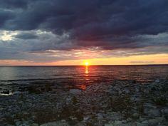 The Beach at Fayette, Michigan