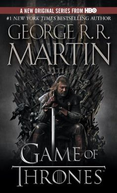 Game of Thrones by George R. R. Martin (Available on our Game of Thrones Nook and Science Fiction/ Fantasy Nook)