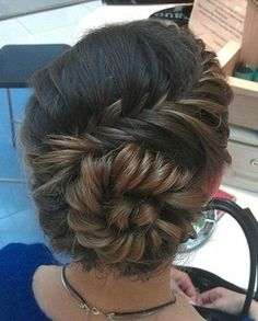 braided updos hairstyles 2012