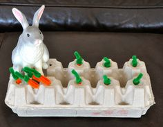 Pull out the carrot #easter #bunny #spring activity for preschoolers