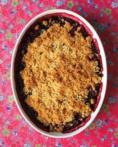 Blackberry Crisp Recipe