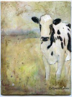 Art Journal Cow