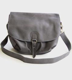 Leather Messenger Bag by Atelier Bits on Scoutmob Shoppe
