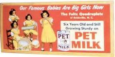 The Fultz Quads peddle Pet Milk.