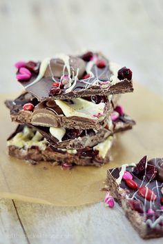 Decadent Valentine's Day Chocolate Bark!