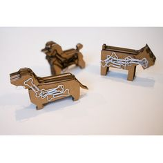 Mag Dog- laser cut dachshund with magnets inside!