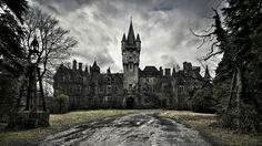 I don't know where this is - but WOW! *Update* Miranda Castle in Belgium - sadly it really is derelict right now - If only I had money I'd totally buy and renovate it!! (not sure it's for sale, but yeah)