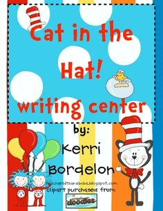 Students will love using these Cat in the Hat! Writing Mats in Literacy and Writing Centers. Colorful pictures, along with vocabulary words, are th...