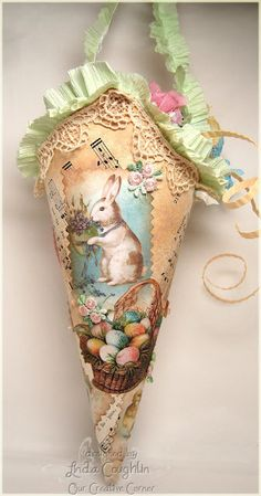 Vintage Shabby Easter Craft