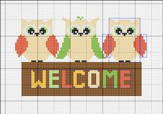 cross-stitchandcoffee: Little birds Pattern, feel free to... - Plastic Canvas Creations