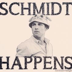 Oh Schmidt.