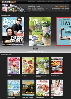 All the Magazines You Can Read for $10 per Month