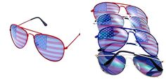 $4.95 Flag Aviators - QUICK SHIP | Sassy Steals