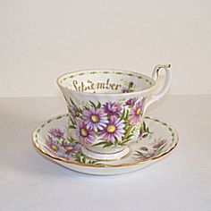 Royal Albert September Tea Cup and Saucer. Click on the image for more information.