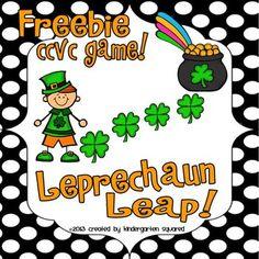 Leprechaun Leap CCVC game! FREEBIE!