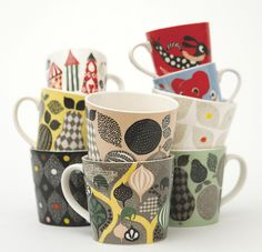 mugs by Littlephant by AMM blog, via Flickr