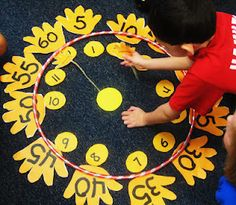 First Grade Wow: math   Great hands on telling time activity