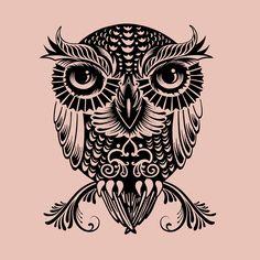 Egyptian Owl by Rachel Caldwell