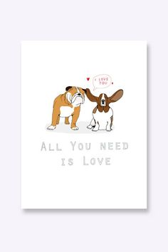 East End Prints: All You Need Is Love