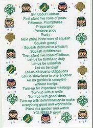 Girl Scout Ceremony on Pinterest | Girl Scout Bridging, Girl Scouts a ...