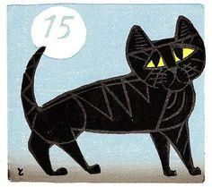 Cat #15   by Tomoo Inagaki