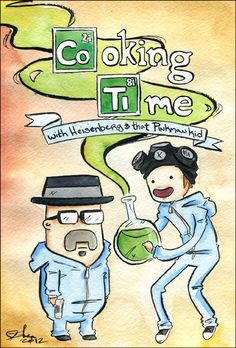 Adventure Time x Breaking Bad
