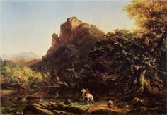 The Voyage of Life Youth - Thomas Cole
