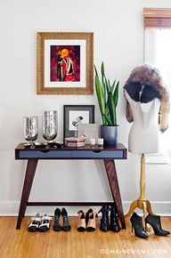 Side table and mannequin stand