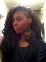 Let us give you this look with crochet braids! #naturallyfly